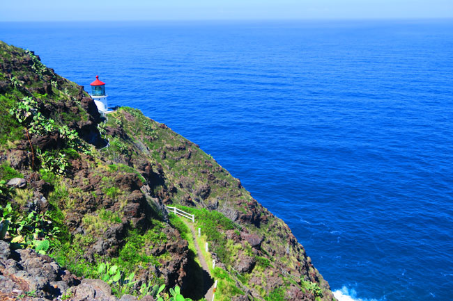 Lighthouse - Makapu'u Point Lighthouse Trail - Oahu - Hawaii