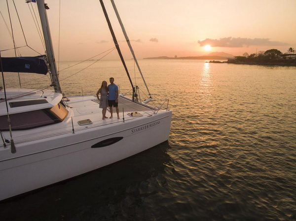Meet the couple sailing around the world - FB Cover