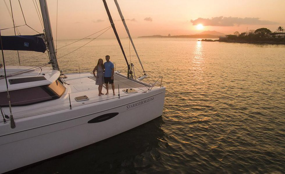 Meet The Couple Sailing Around The World