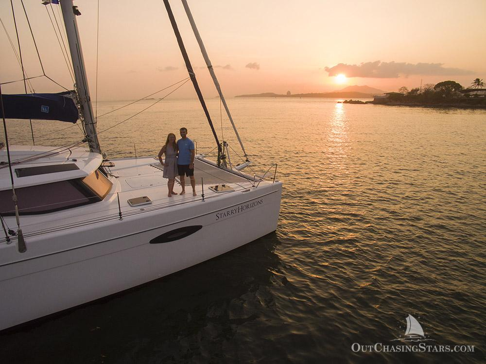 Meet the couple sailing around the world - Starry Horizons - pst cover