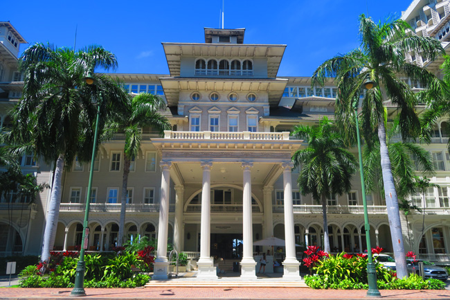 Moana Surfrider Hotel - Waikiki Beach - Oahu - Hawaii