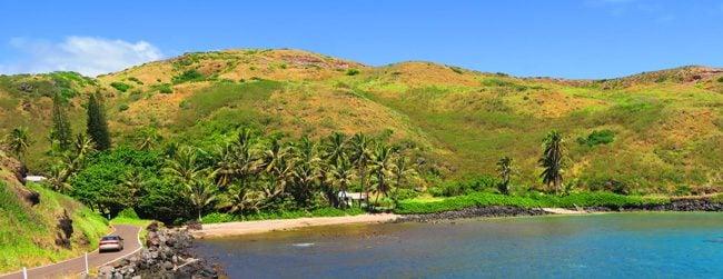 Molokai scenic drive south coast - Hawaii