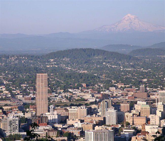 Mt Tabor Portland Oregon