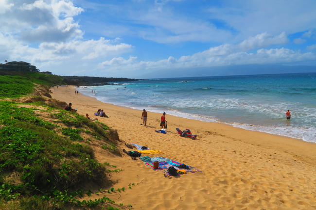 Oneloa Beach - Maui - Hawaii