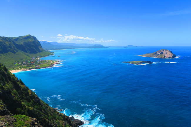 Pali Coast from Makapu'u Point Lighthouse Trail - Oahu - Hawaii