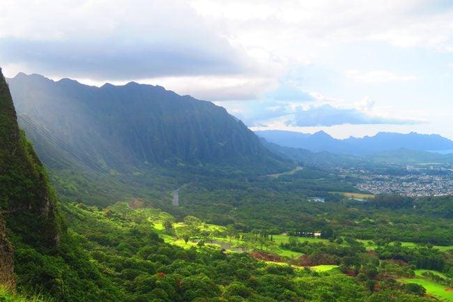Pali Lookout - Oahu - Hawaii
