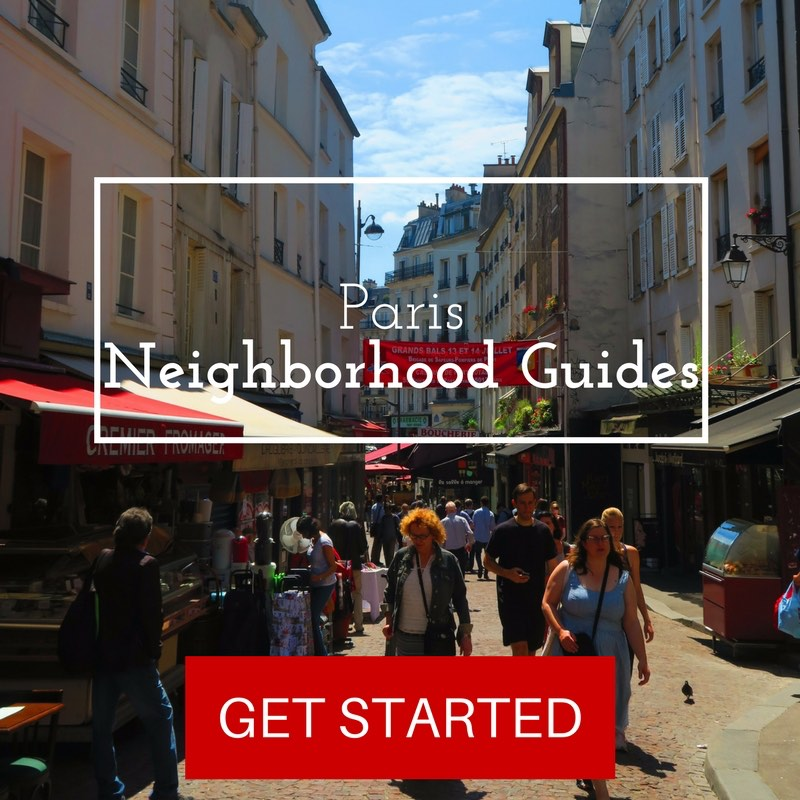 Paris neighborhood guide collection