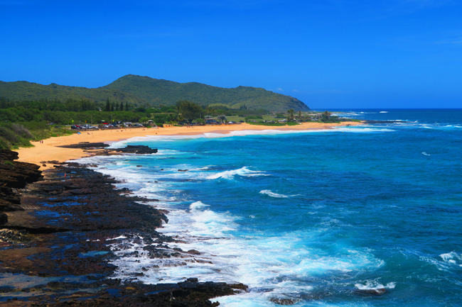 Sandy Beach overlook- Oahu - Hawaii