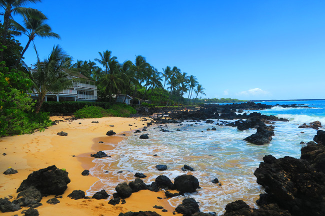 Secret Cove Beach - Maui - Hawaii