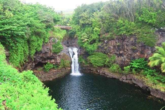 Seven Sacred Pools - Maui - Hawaii - Waterfall