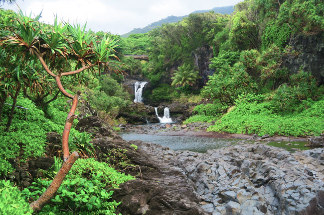 Seven Sacred Pools - Maui - Hawaii