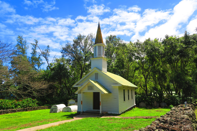 Siloama Protestant Church - Kalaupapa - Molokai - Hawaii