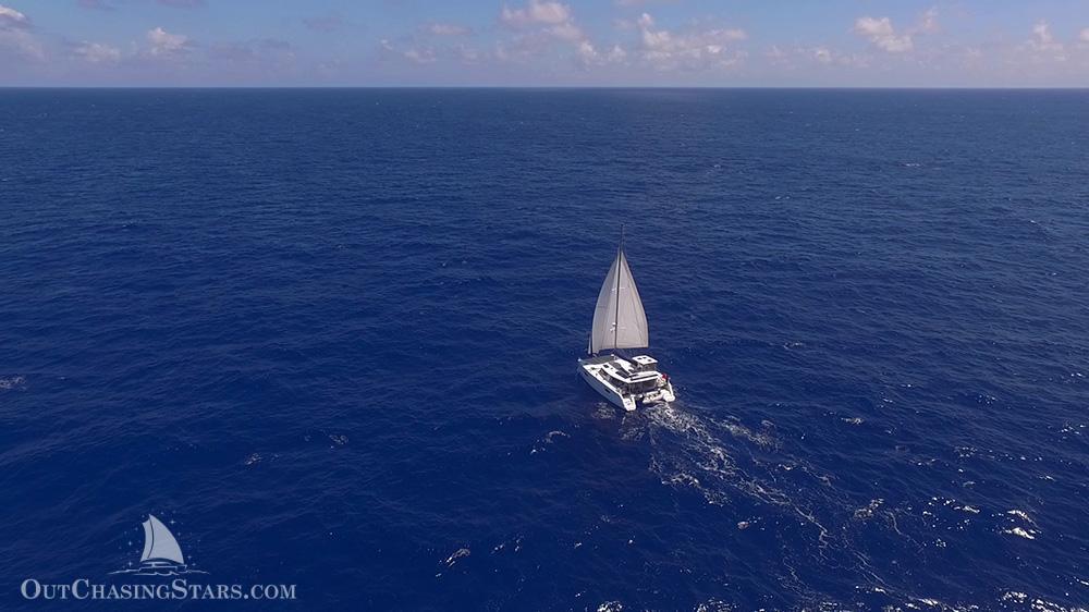 Starry Horizons - crossing Atlantic Ocean