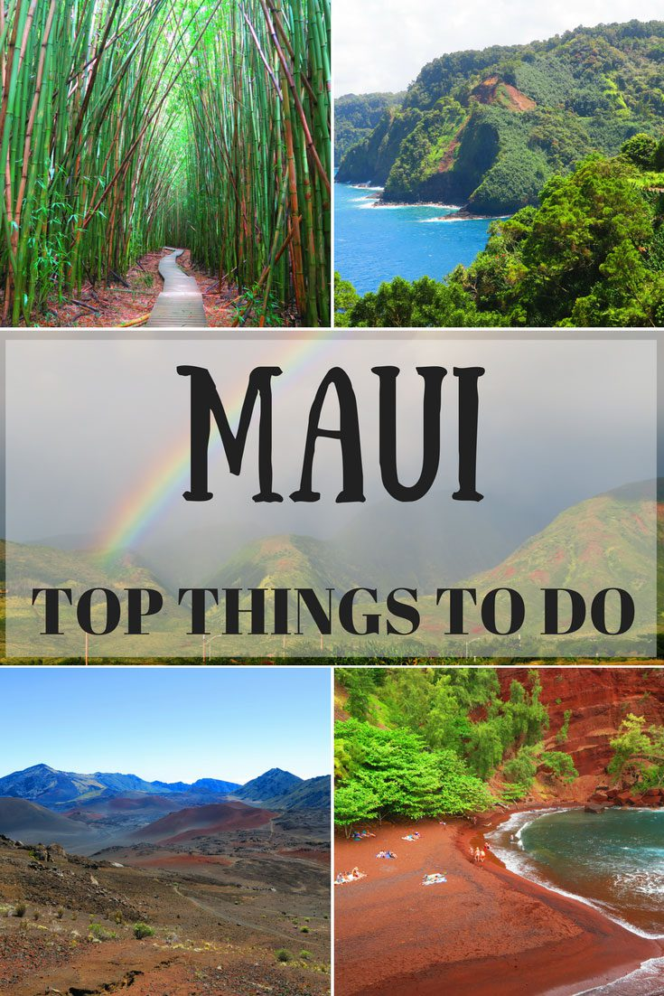 TOP THINGS TO DO IN MAUI - HAWAII - PIN