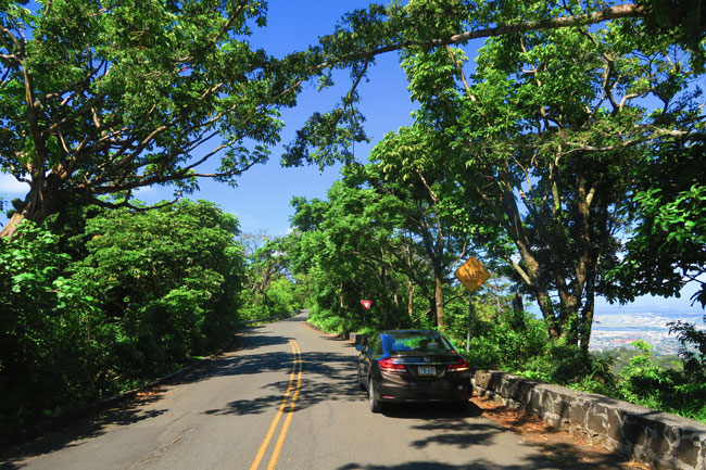Tantalus Scenic Drive - Oahu - Hawaii.
