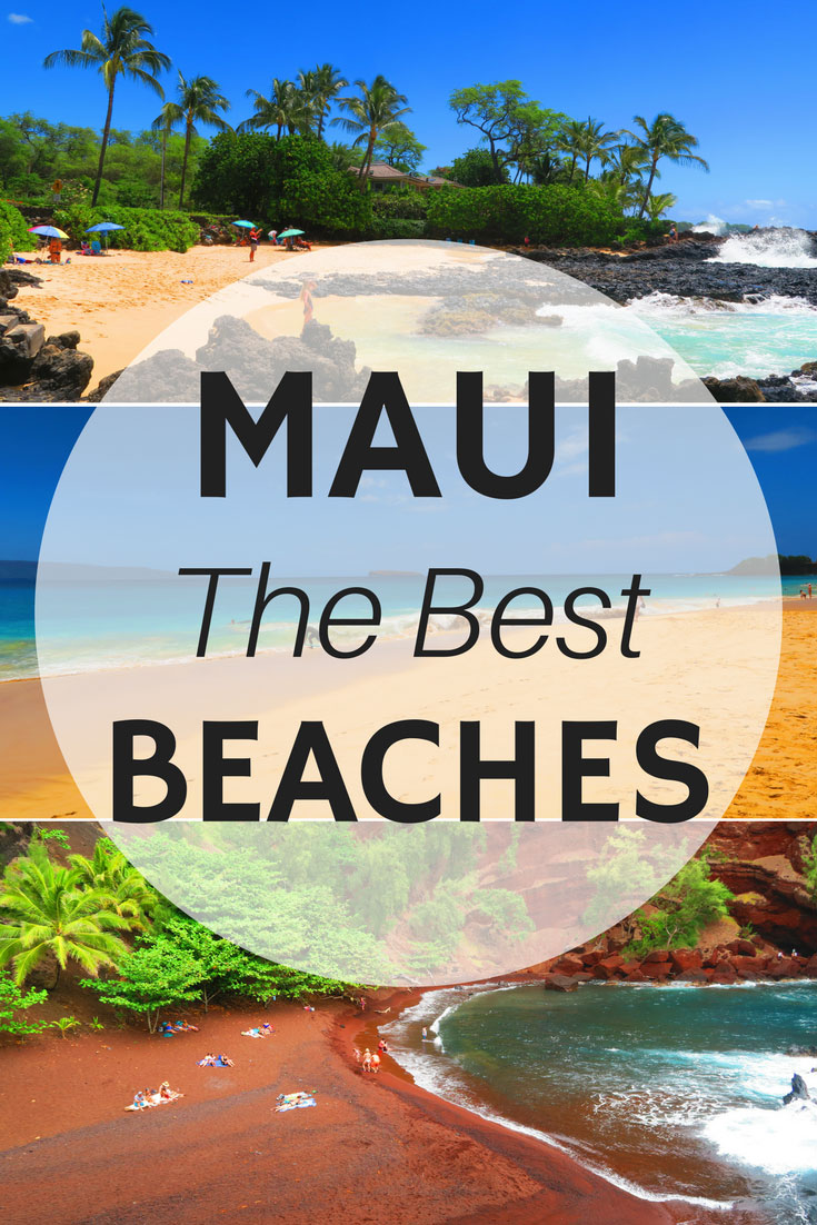 The-Best-Beaches-In-Maui-Hawaii-Pin
