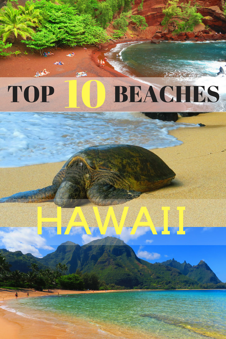 The Best Beaches in Hawaii - Pin