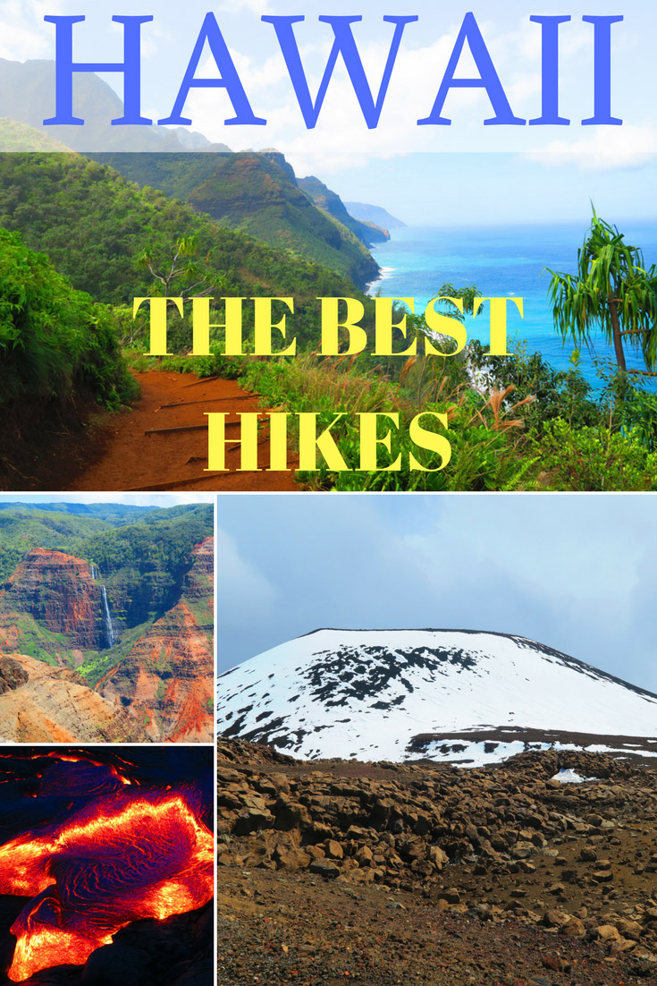 The Best Hikes In Hawaii - Pin