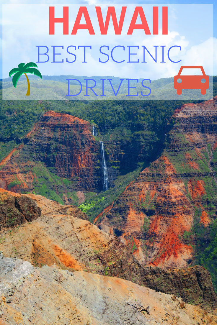 The Best Scenic Drives In Hawaii - Pin