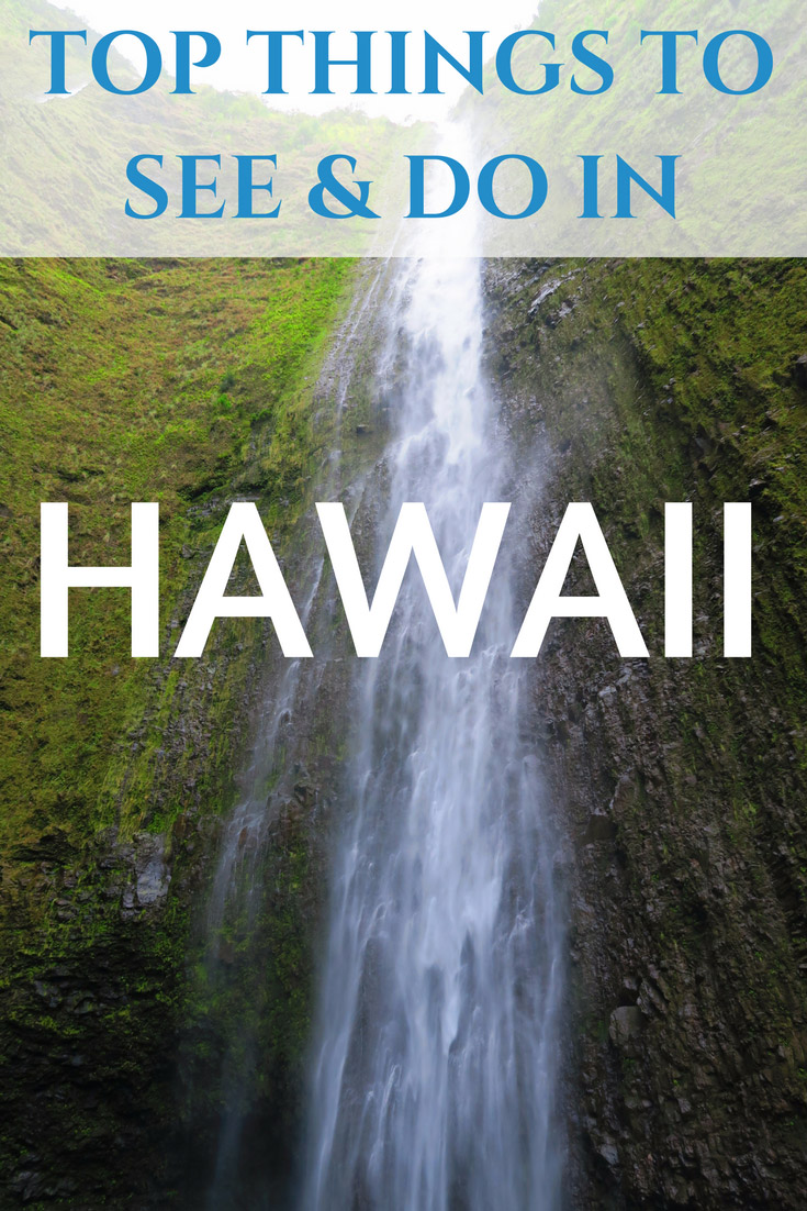 Top things to see and do in Hawaii - Pin