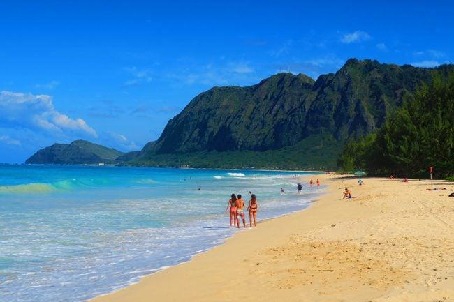 Waimanalo Beach - Hawaii - Oahu