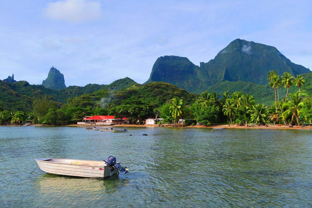מוריאנ - סיור מסביב לאי - טהיטי - פולינזיה הצרפתית