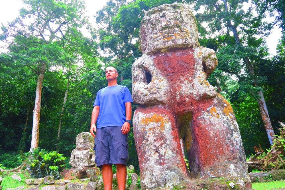 מקדש פולינזי - איי מרקיז - טהיטי