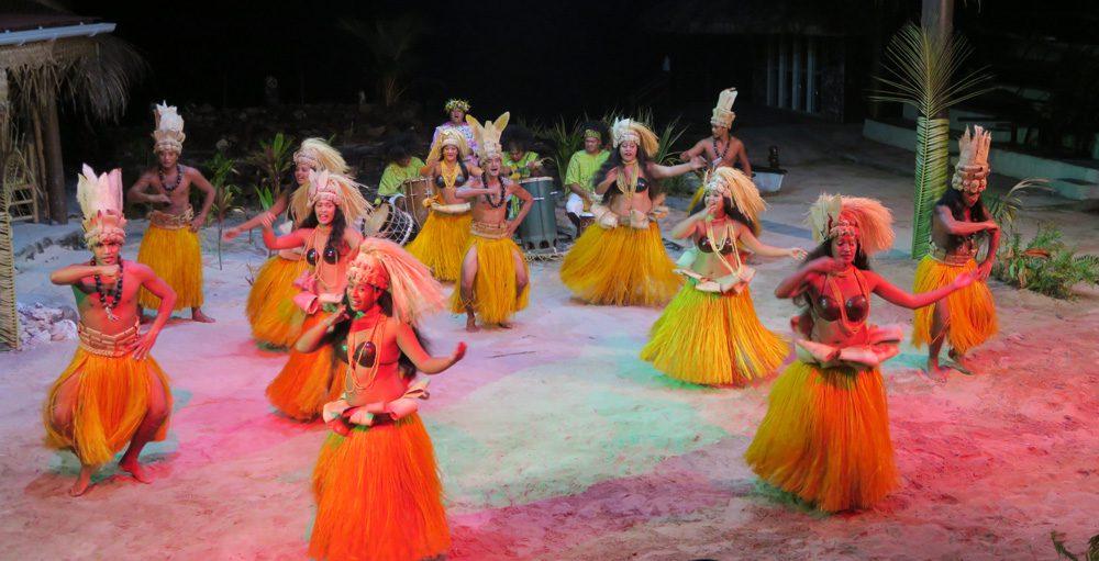 ריקוד פולינזי - טהיטי