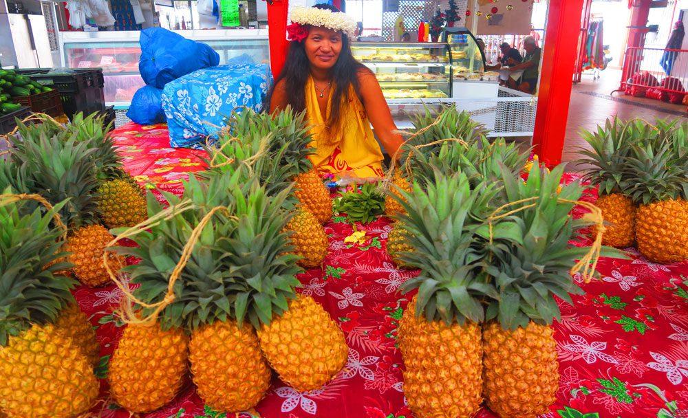 שוק בפפאטה - טהיטי - פולינזיה הצרפתית