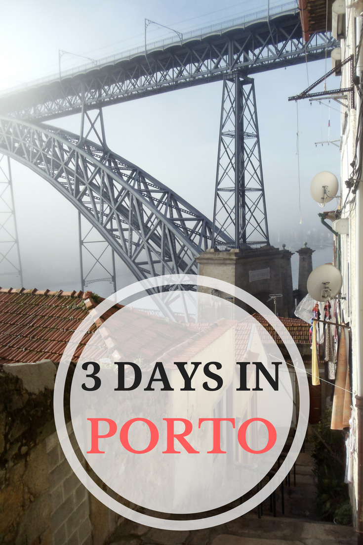 3-Days-In-PORTO - Pin