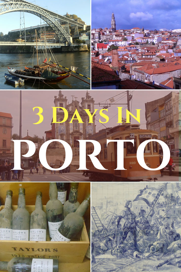 3-Days-in-Porto-Portugal - Pin