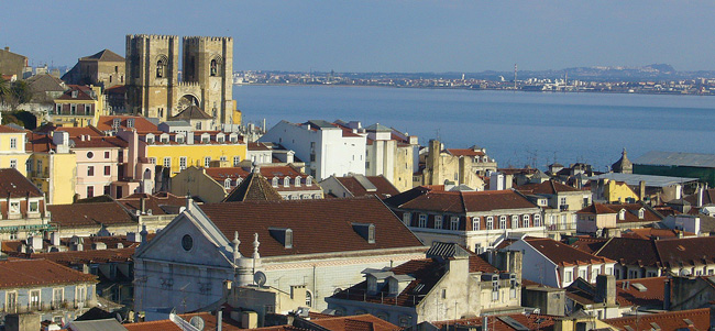 4 Days In Lisbon sample itinerary - panoramic view of city