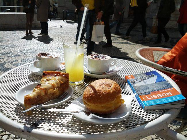 A Brasileira - famous lisbon cafe - Portugal