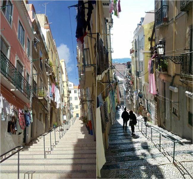 Bairro Alto alleys - Lisbon Portugal