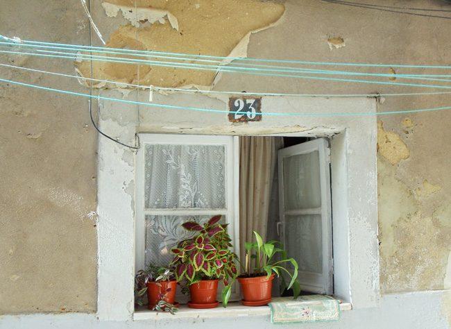 Bairro Alto window - Lisbon Portugal