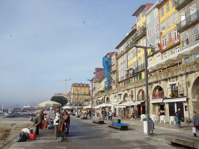 Cais Ribeira - Porto - Portugal