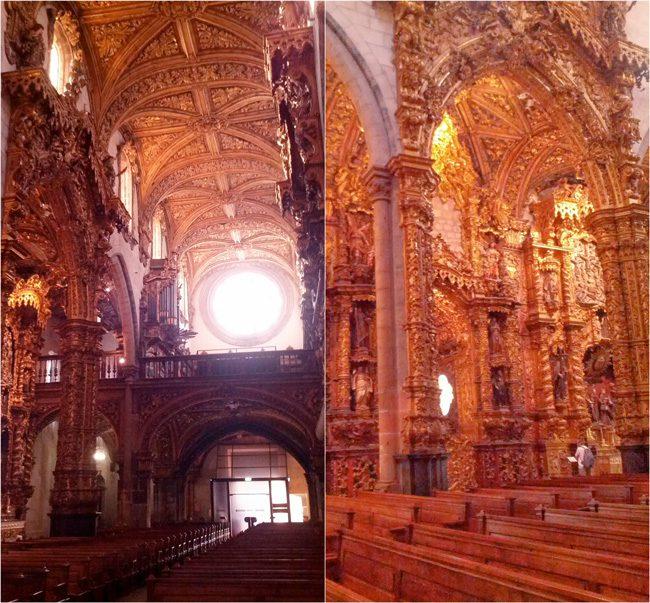 Chapel - Igreja de Sao Francisco - Porto - Portugal