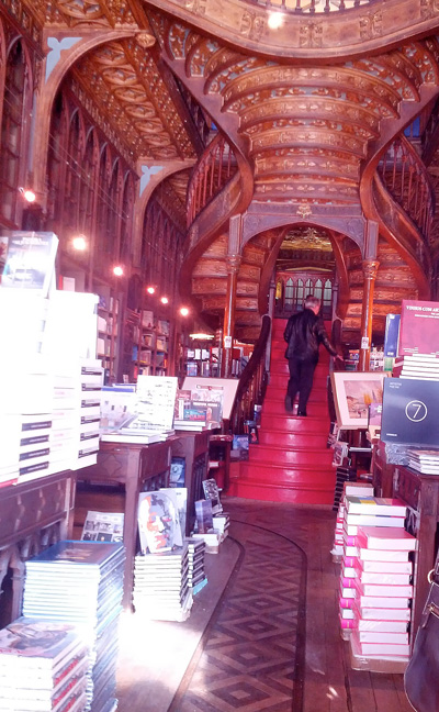 Livraria Lello - Harry Potter Bookstore - Porto - Portugal