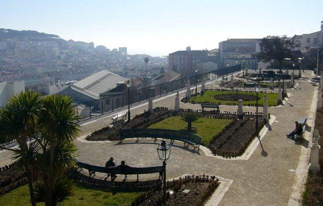 Miradouro de Sao Pedro de Alcantara - Lisbon - Portugal