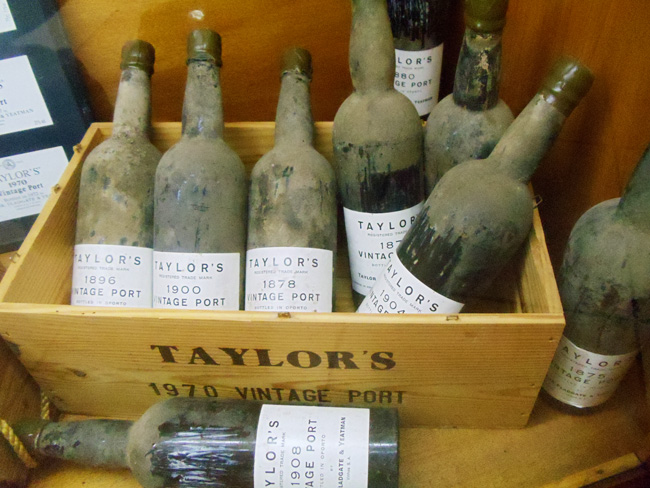 Old Taylors Port Wine Bottles - Porto - Portugal