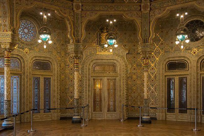 Palácio da Bolsa - Arabian Hall - Porto - Portugal