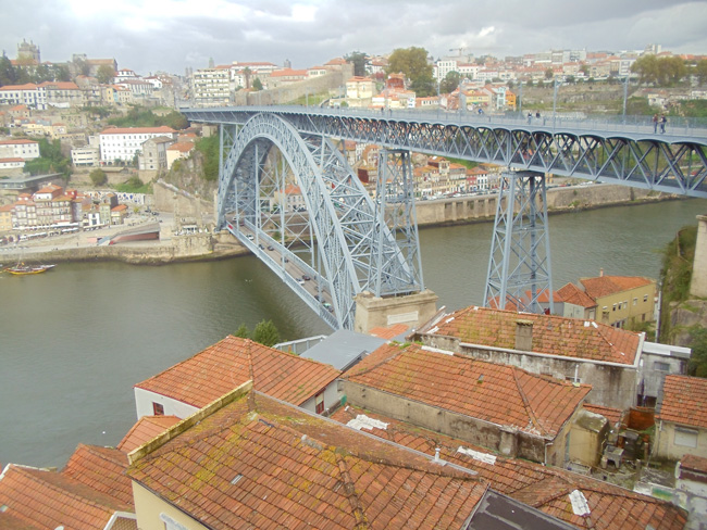 Ponte Dom Luis I - Porto - Portugal