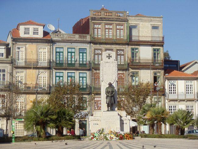 Praca de Carlos Alberto - Porto - Portugal