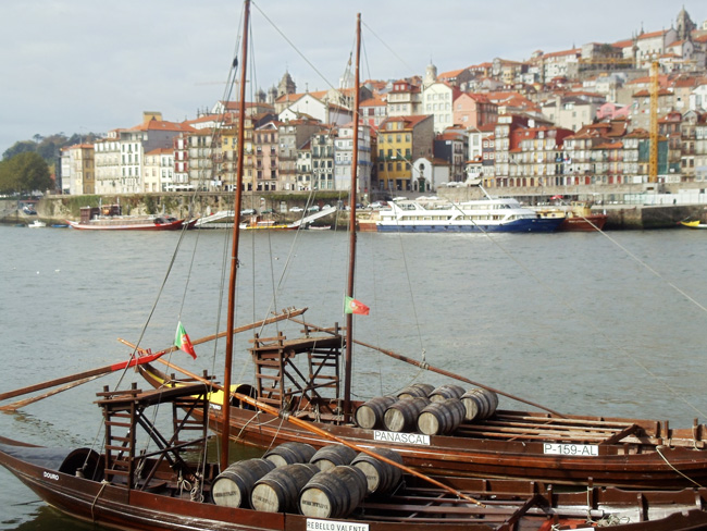 Rabelo Port Wine Cargo Boat - Porto - Portugal