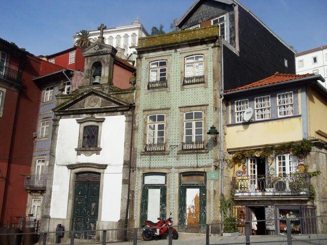 Ribeira Old Buildings - Porto - Portugal
