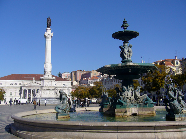 Rossio Square - Lisbon - Portugal
