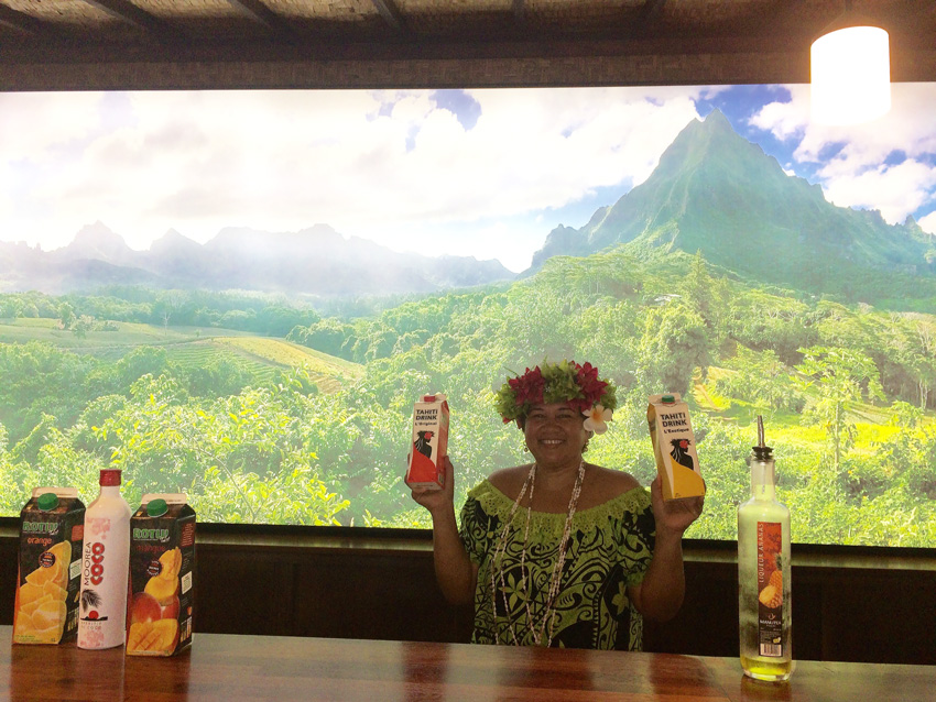 Rotui Manutea - Fruit Juice Factory Tasting - Moorea - French Polynesia