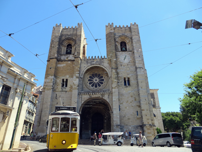 Se Cathedral Lisbon Portugal - image by Becks