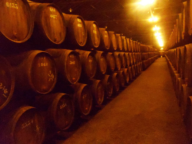 Taylors Port Wine Barrels - Porto - Portugal