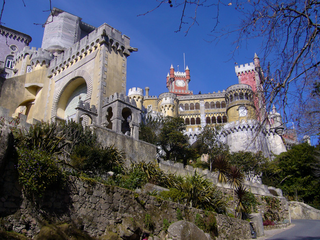 The royal palace in Sintra - Portugal